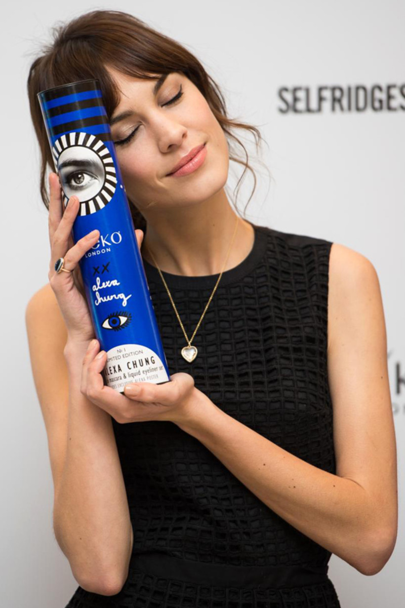 Alexa Chung for Eyeko packaging