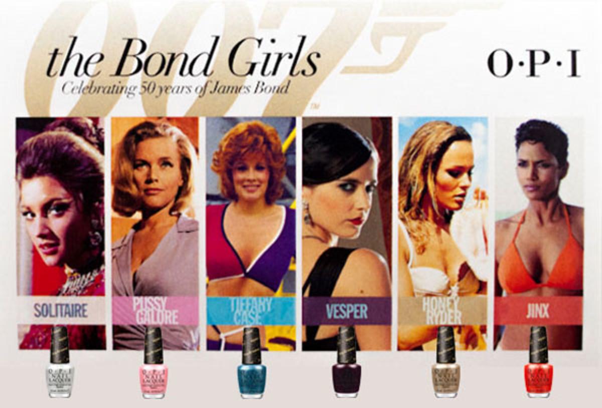 OPI Bond Girls