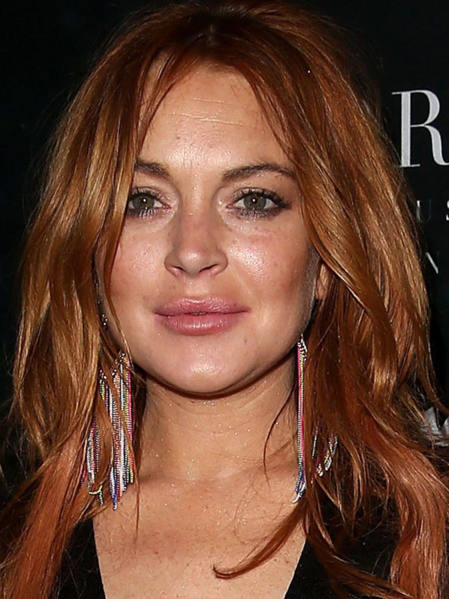 Lindsay Lohan, VIP Room, Cannes 2014