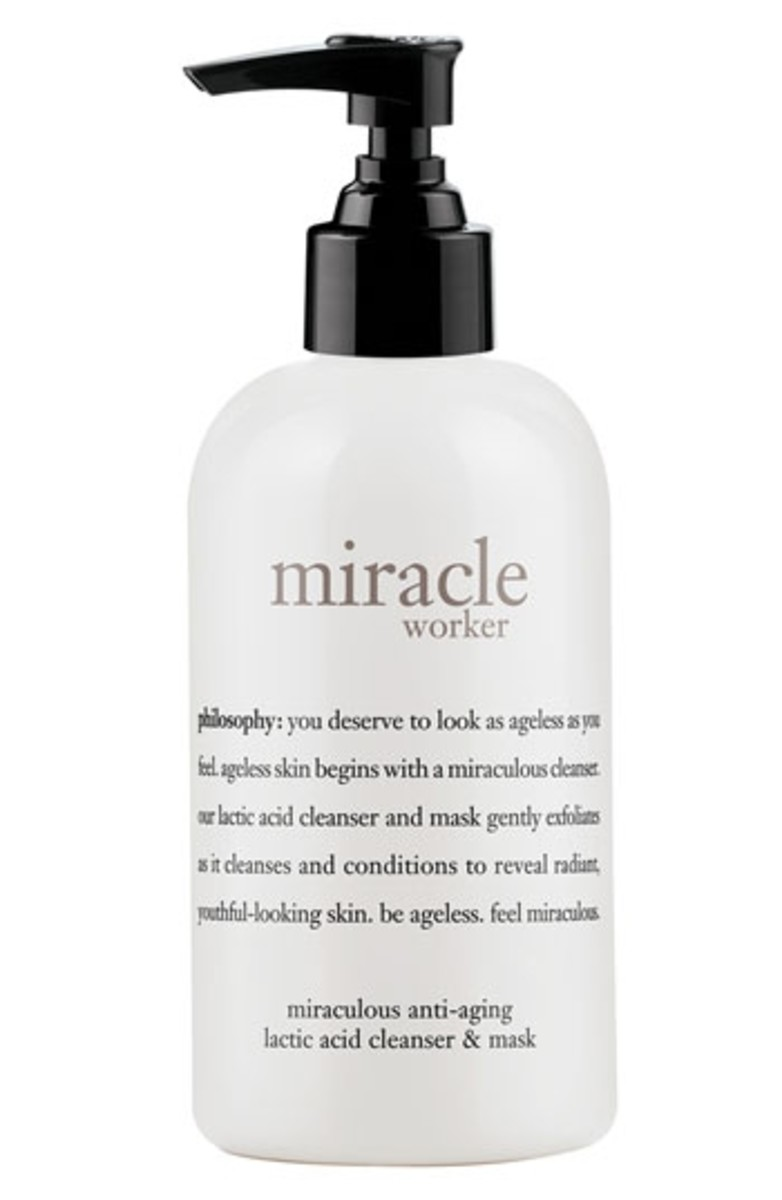 Philosophy Miracle Worker Lactic Acid Cleanser & Mask