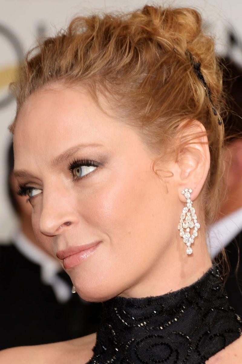 Uma Thurman, Golden Globes Awards, 2014