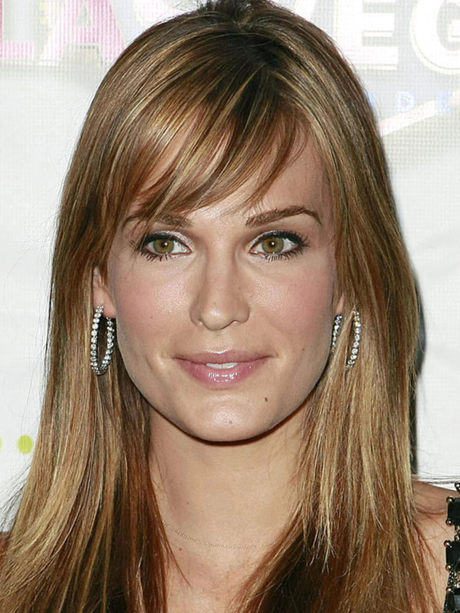 Terrific The Best And Worst Bangs For Long Face Shapes Beautyeditor Short Hairstyles Gunalazisus