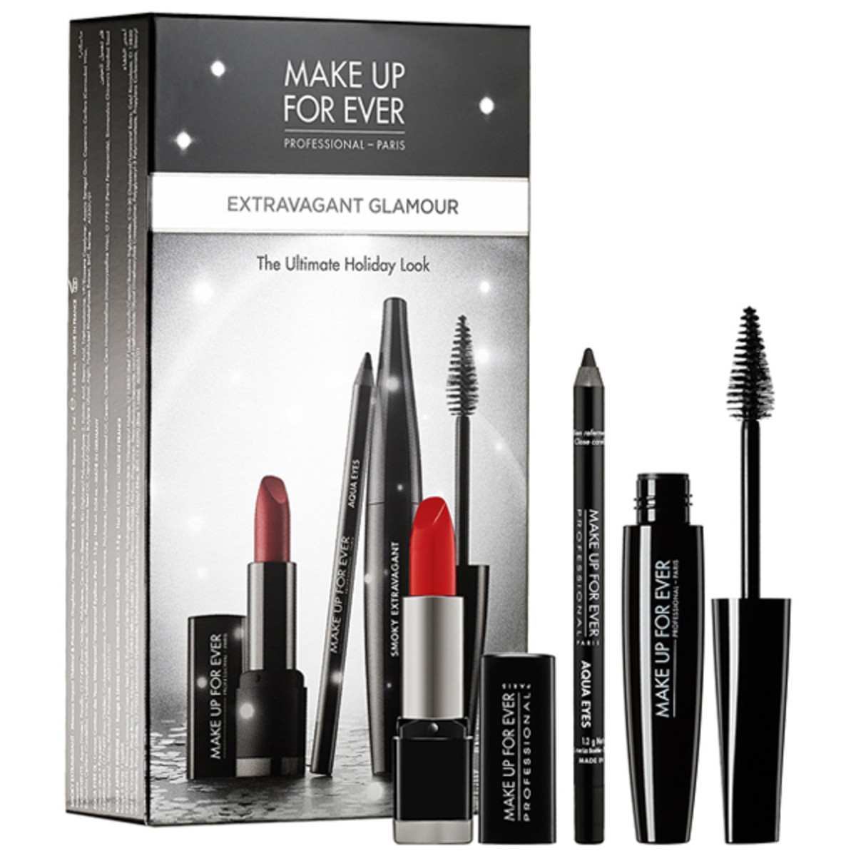 Make Up For Ever Extravagant Glamour Set