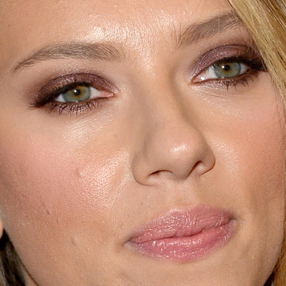 Scarlett Johansson makeup - Under the Skin premiere, Toronto 2013