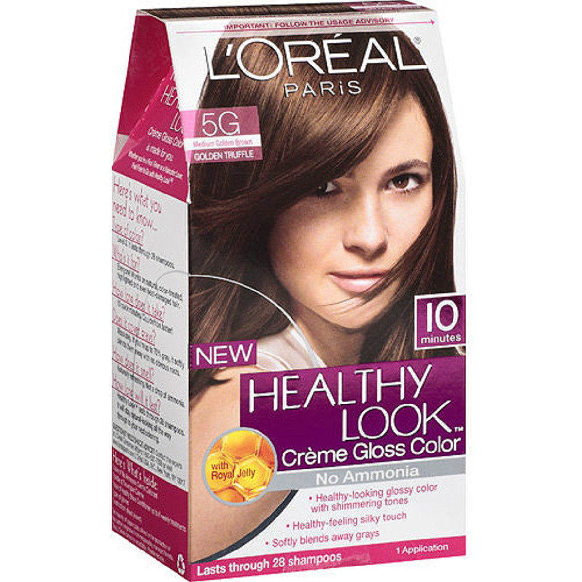 Straight perm thin hair - L Oreal Paris Healthy Look Creme Gloss Color