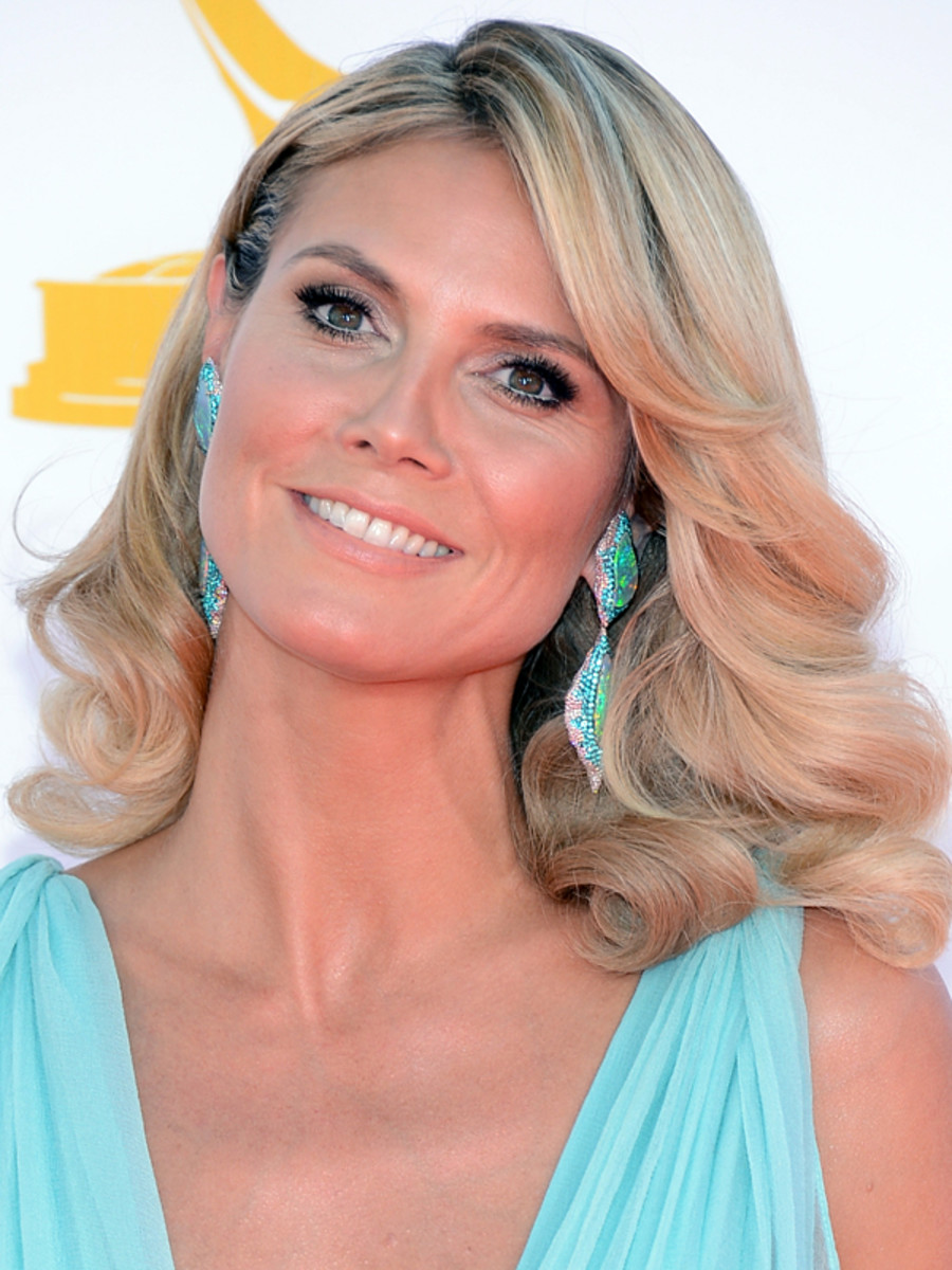 Heidi Klum - Emmy Awards 2012