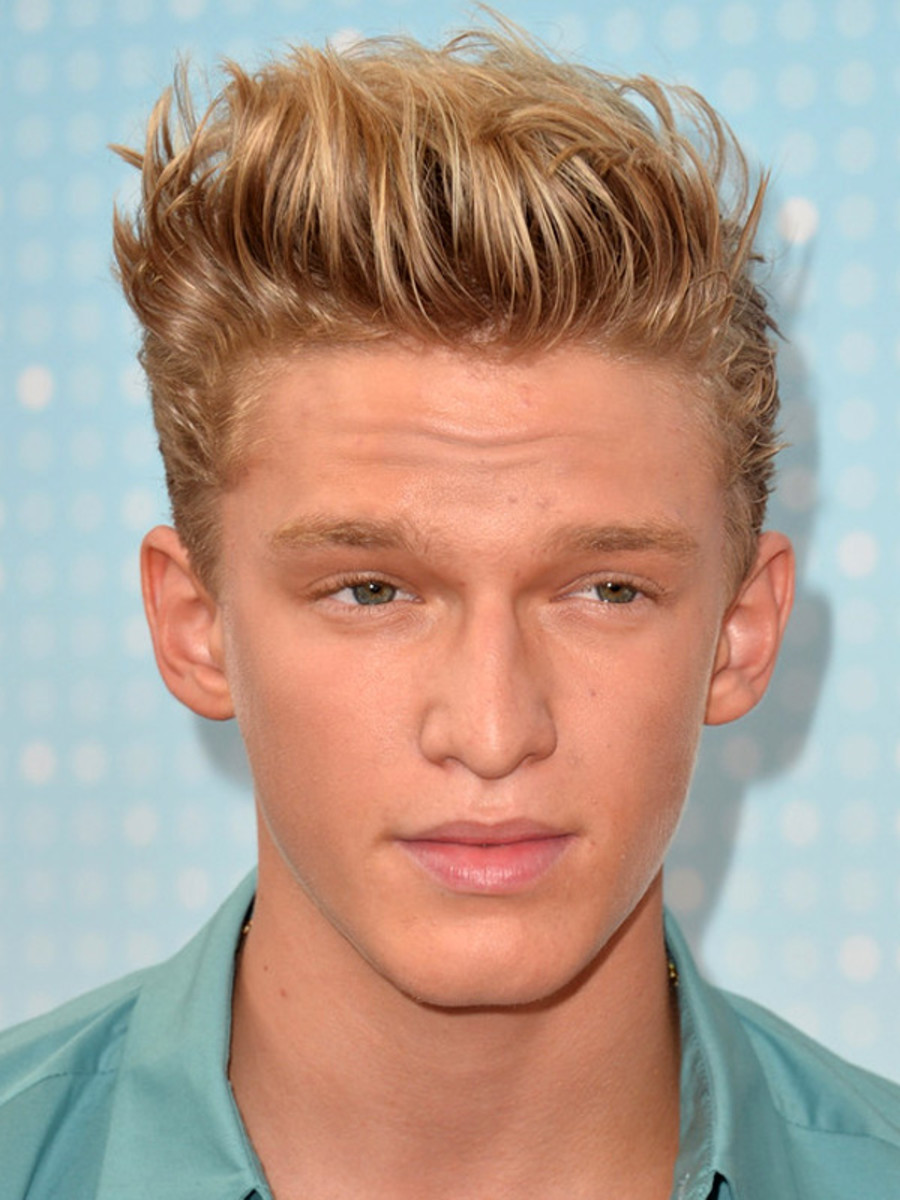Cody Simpson blonde hair