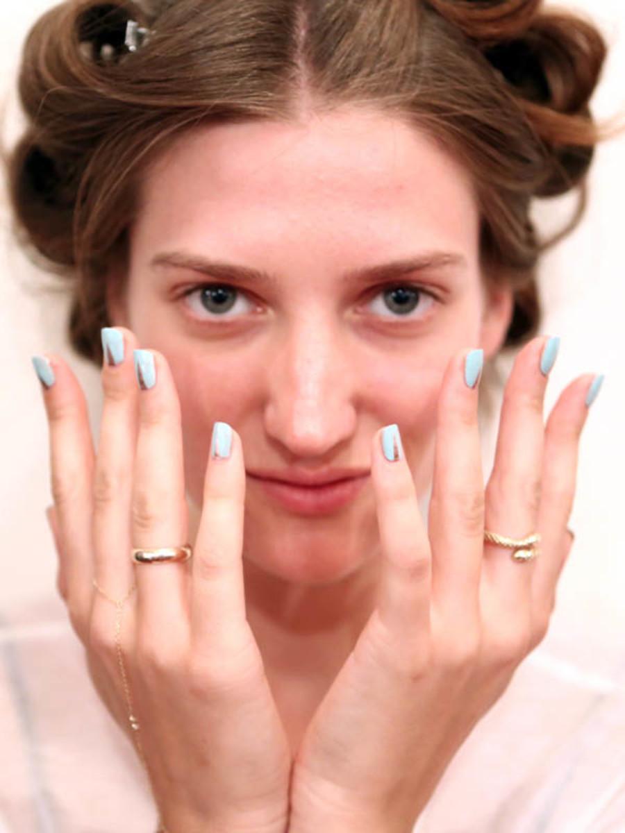Veronica Beard - Spring 2013 nails