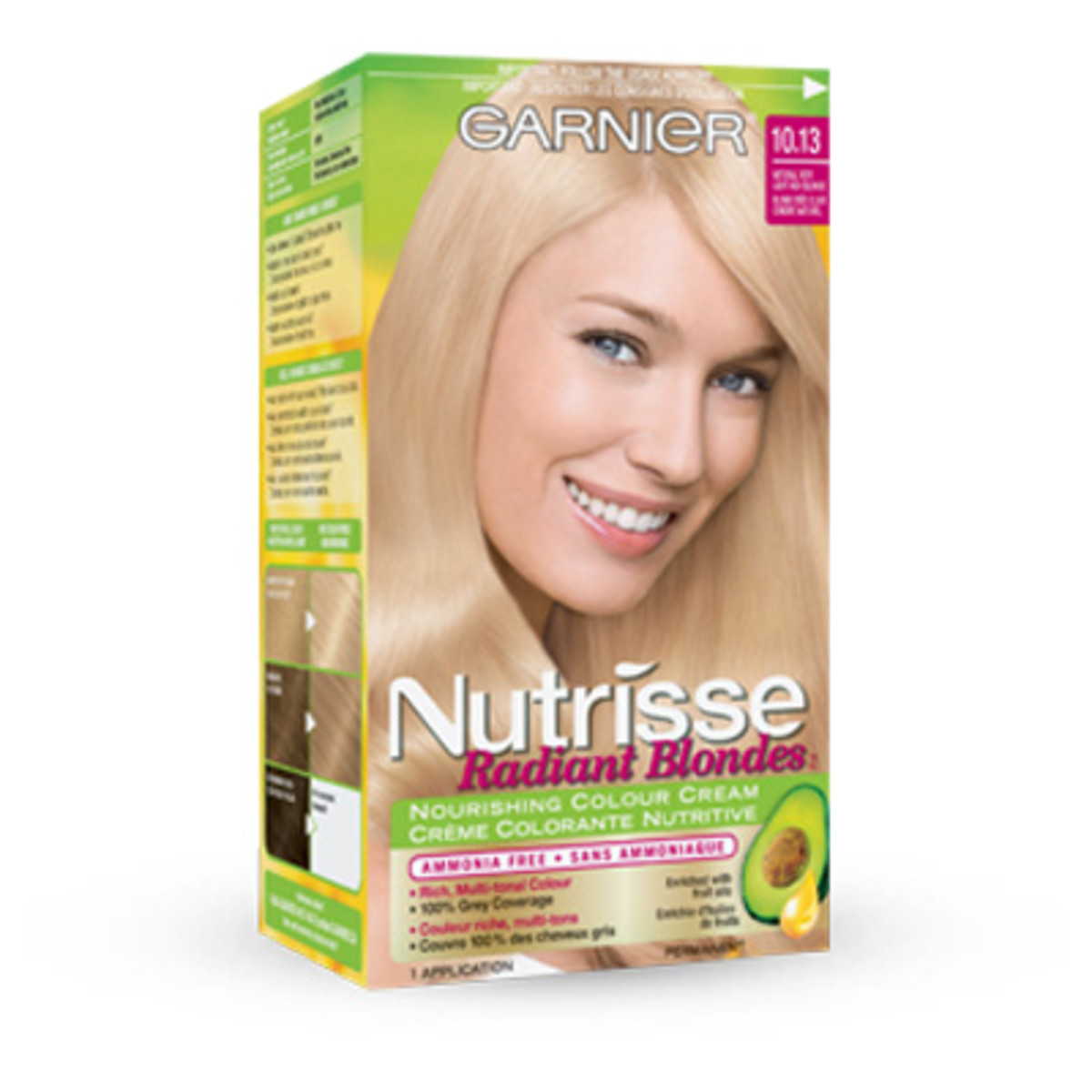 How i dyed my brown hair blonde at home beautyeditor garnier nutrisse radiant blondes 1013 natural very light ash blonde solutioingenieria Images