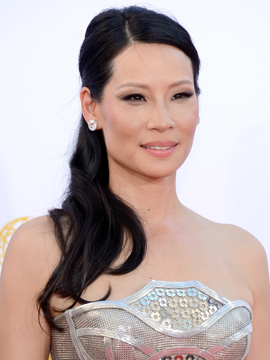 Lucy Liu - Emmy Awards 2012