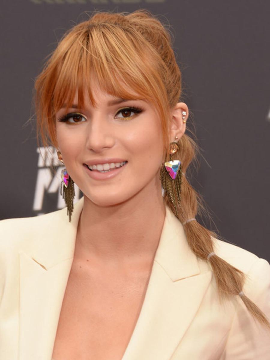 Bella Thorne - MTV Movie Awards 2013 - ponytail