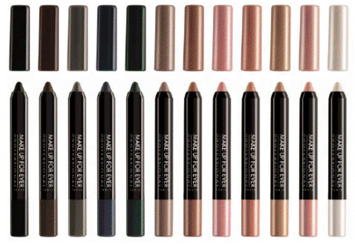 Make Up For Ever Aqua Shadow Waterproof Eye Shadow Pencils