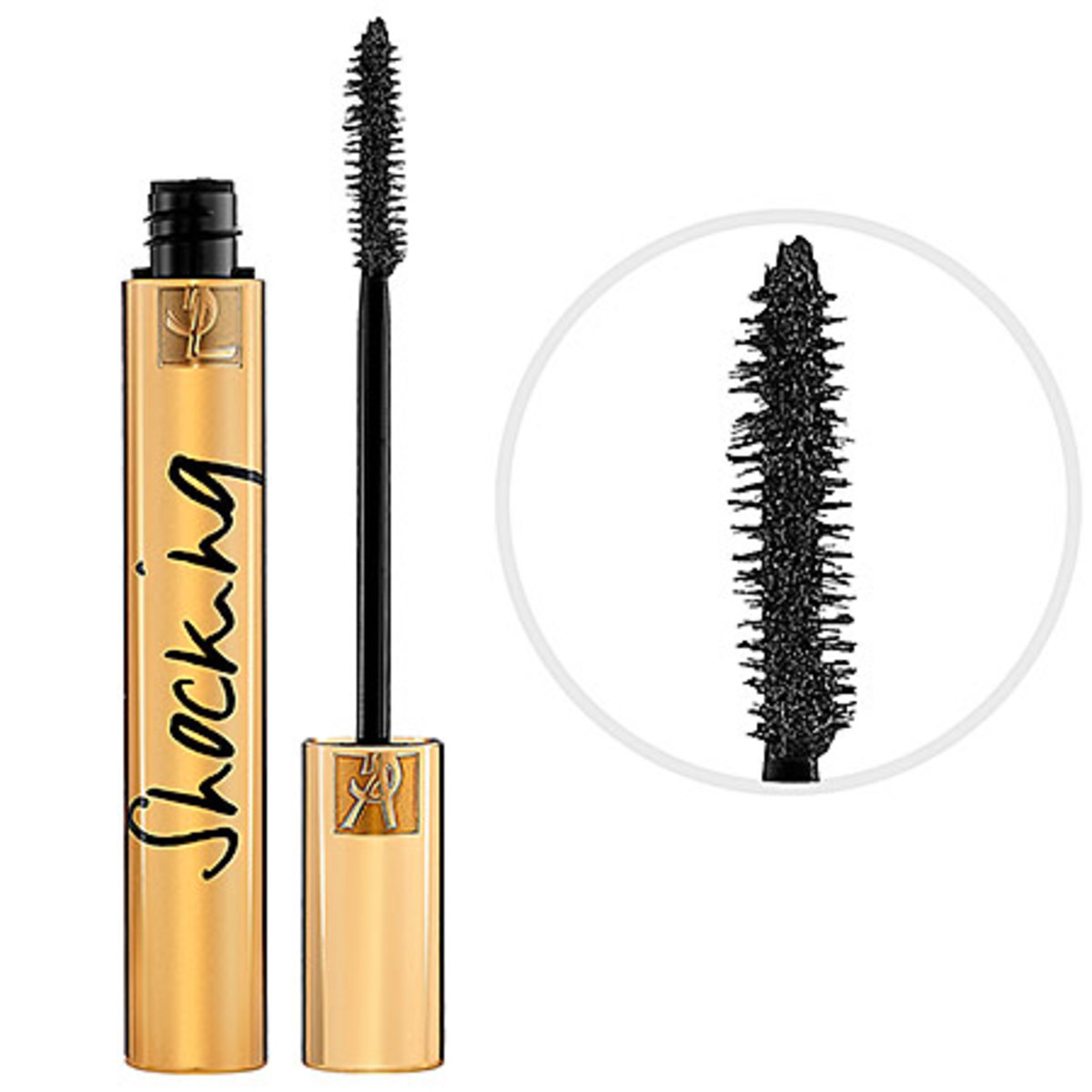 Yves Saint Laurent Mascara Volume Effet Faux Cils Shocking in #1 Deep Black