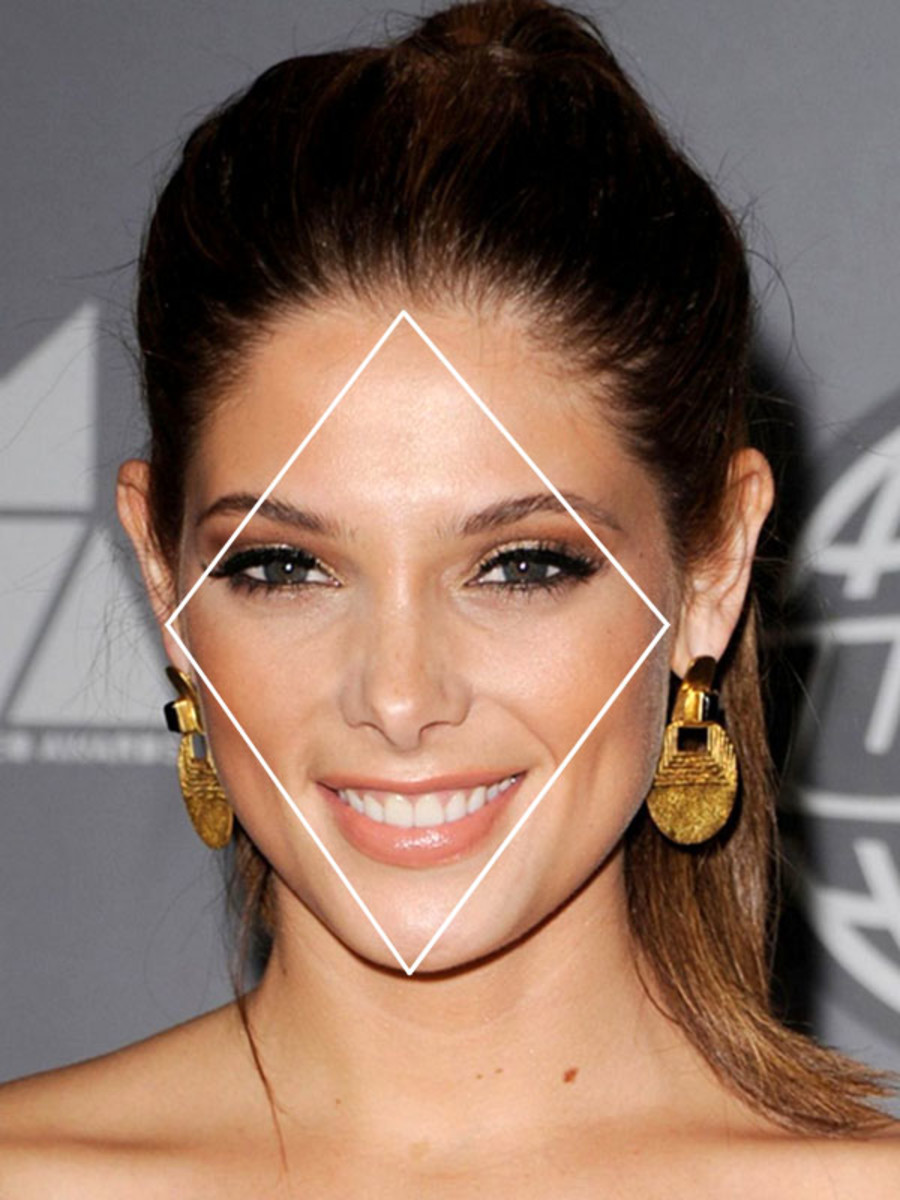 DIAMOND Face Shape? You have a rare face shape! - The ...
