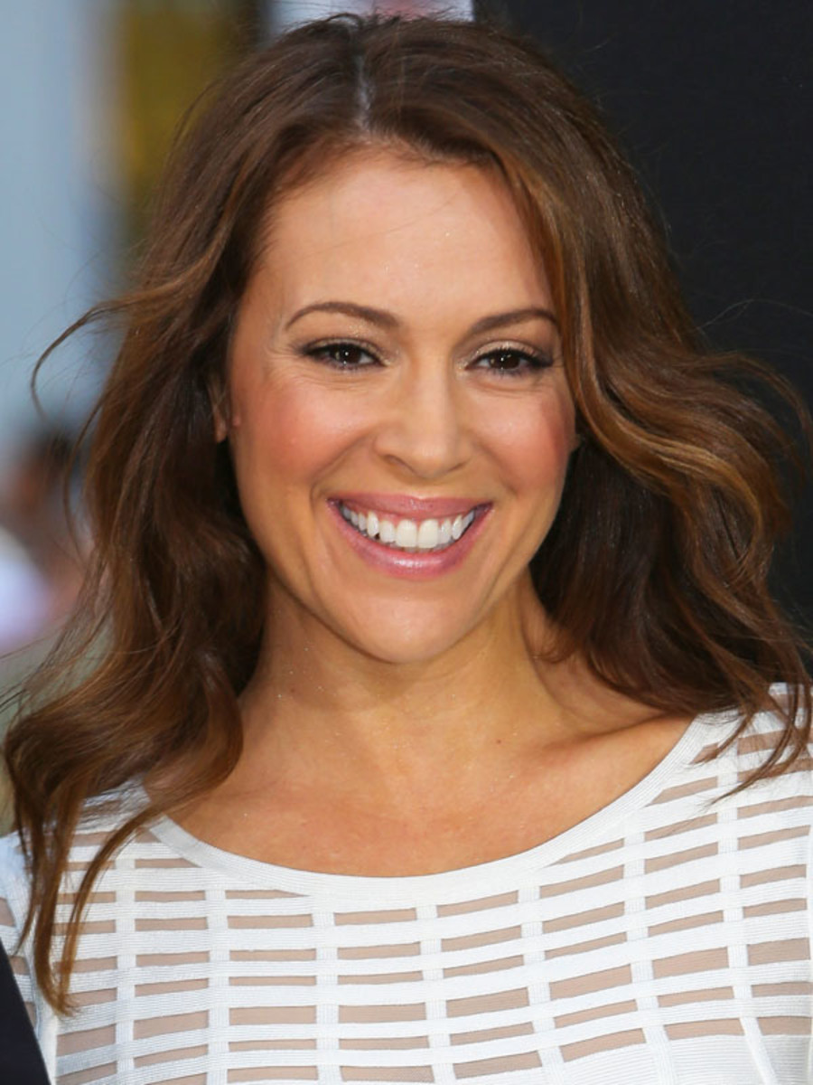 Alyssa Milano - 42 premiere, April 2013