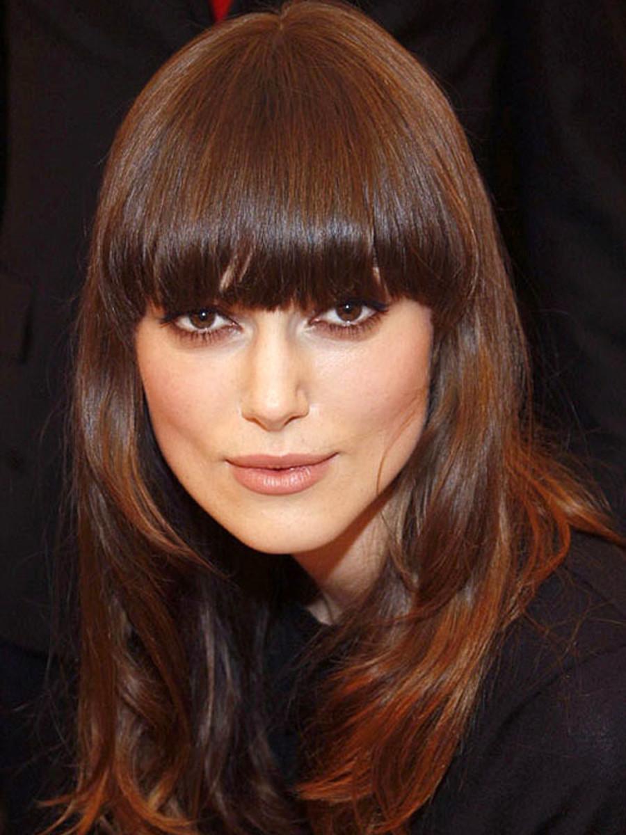 Keira Knightley bangs, 2009