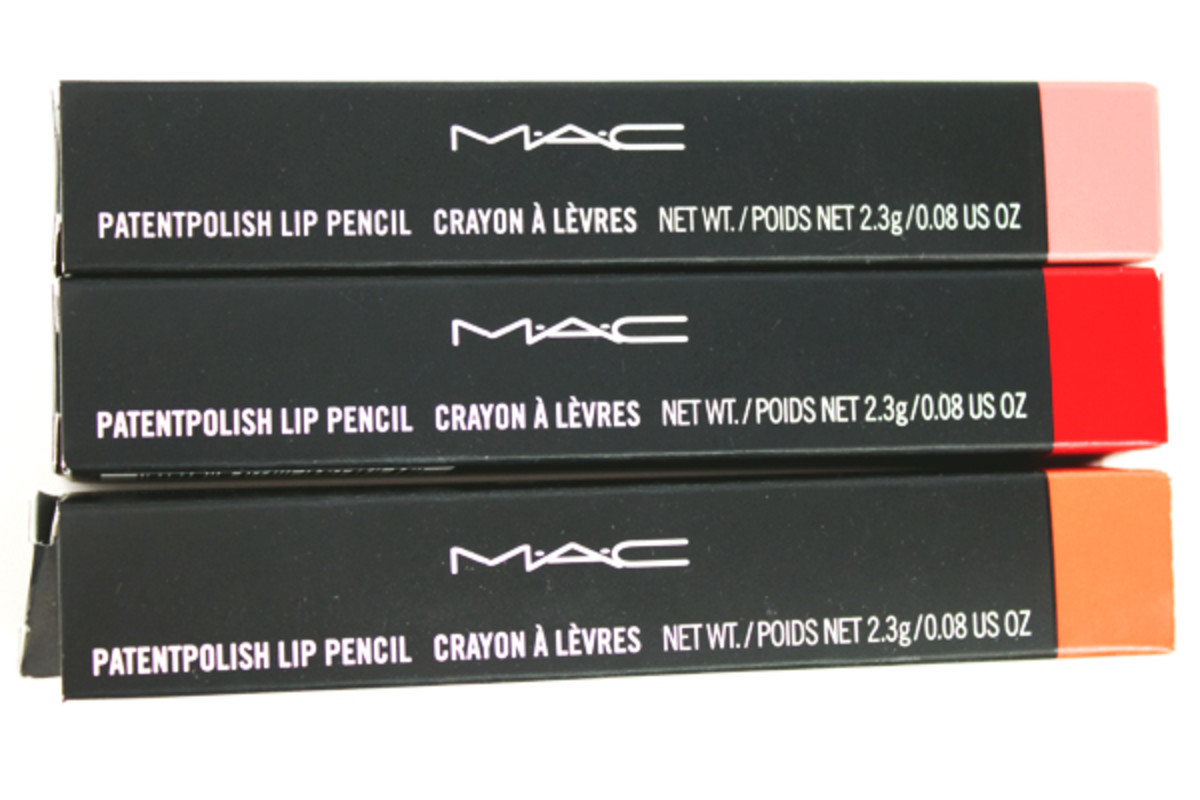 MAC Patentpolish Lip Pencils (3)