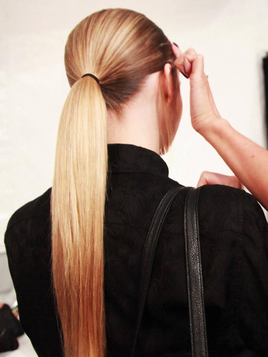 Charlotte Ronson - Fall 2012 hair