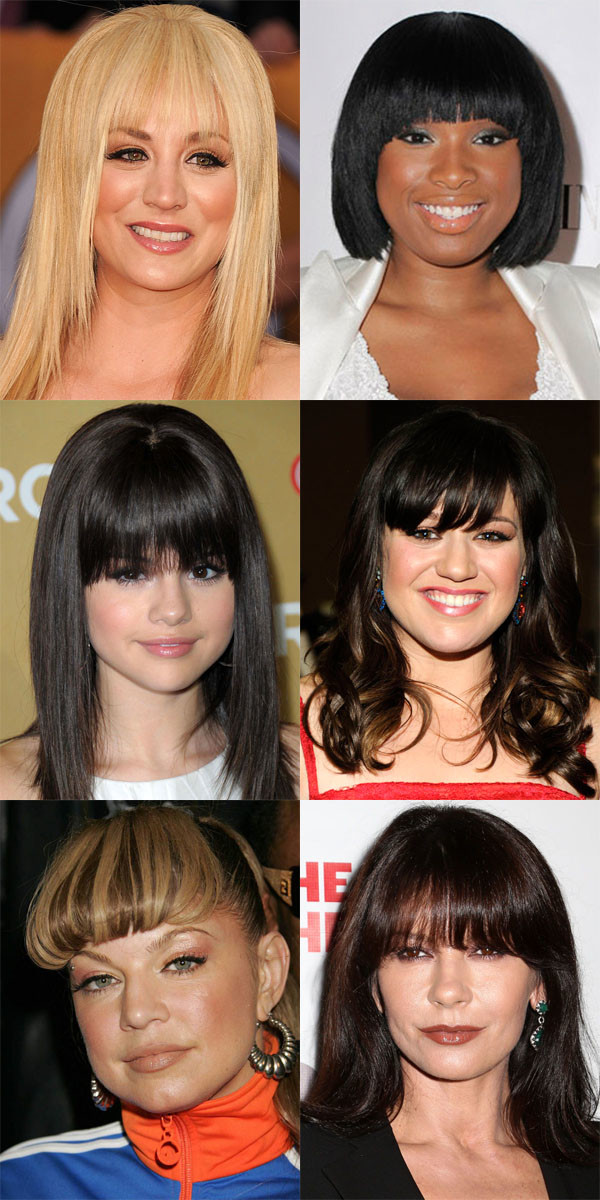 Enjoyable The Best And Worst Bangs For Round Face Shapes Beautyeditor Hairstyles For Men Maxibearus