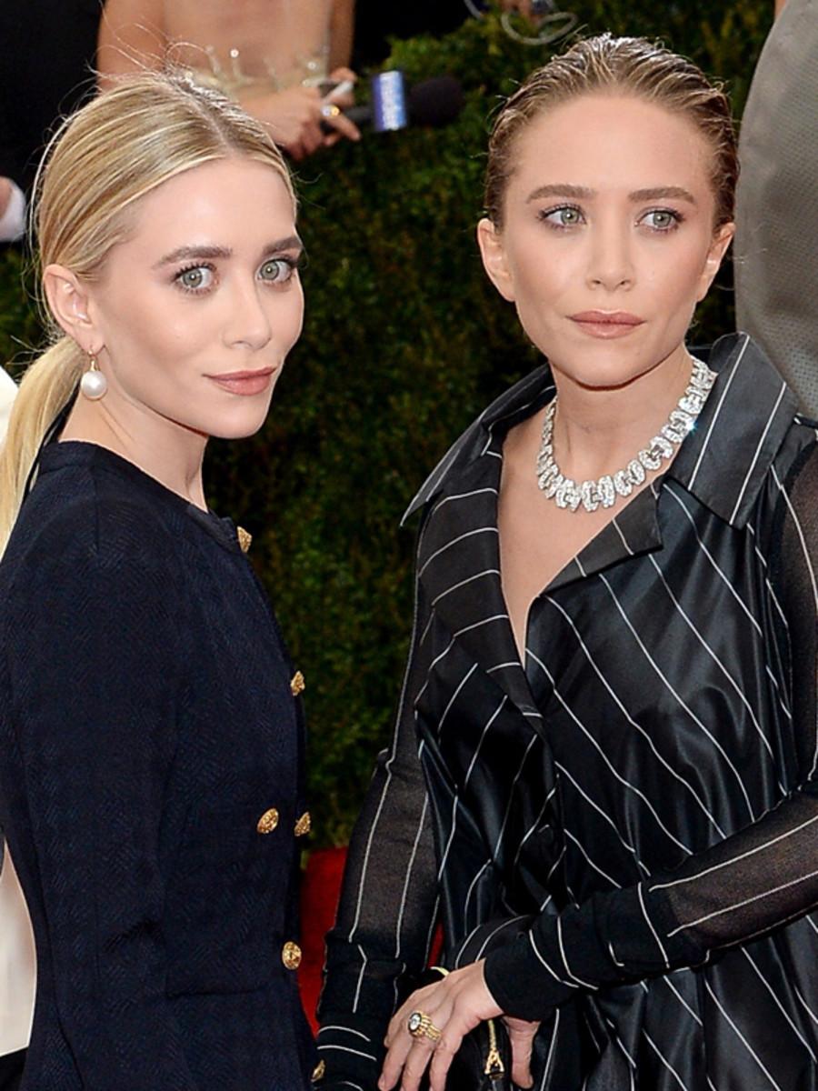 Mary-Kate Olsen and Ashley Olsen, Met Ball 2014
