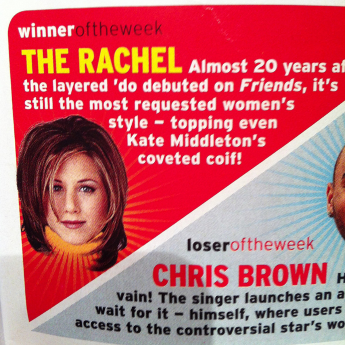 The Rachel cut