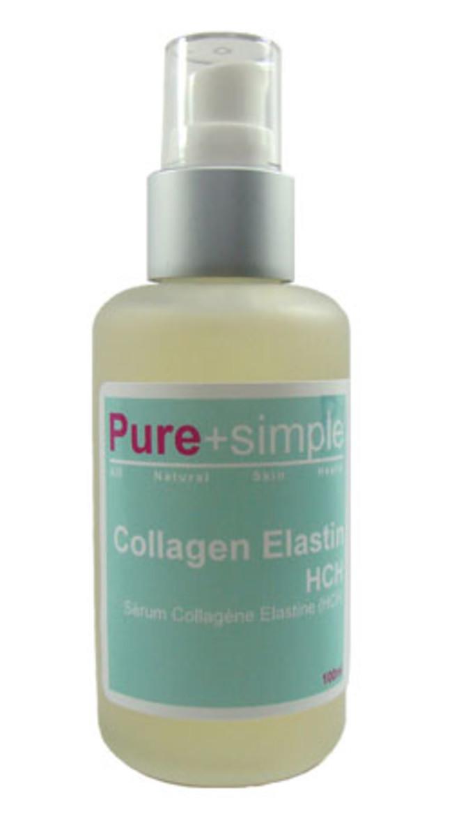 Pure and Simple Collagen Elastin Serum