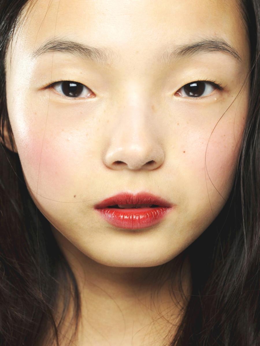 Giles - Spring 2012 makeup