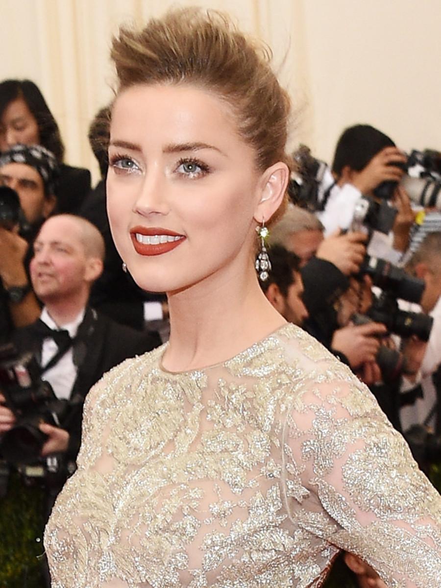 Amber Heard, Met Ball 2014