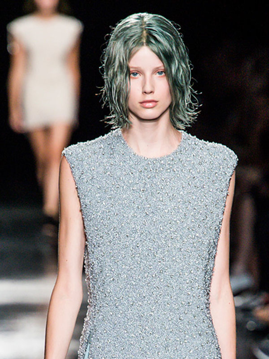 Theyskens' Theory - Spring 2013 hair