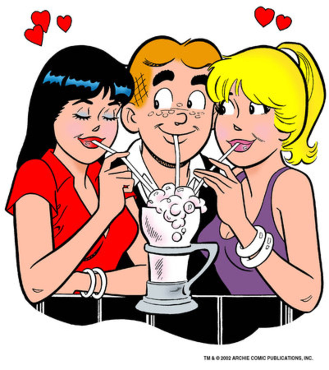 Archie, Betty and Veronica