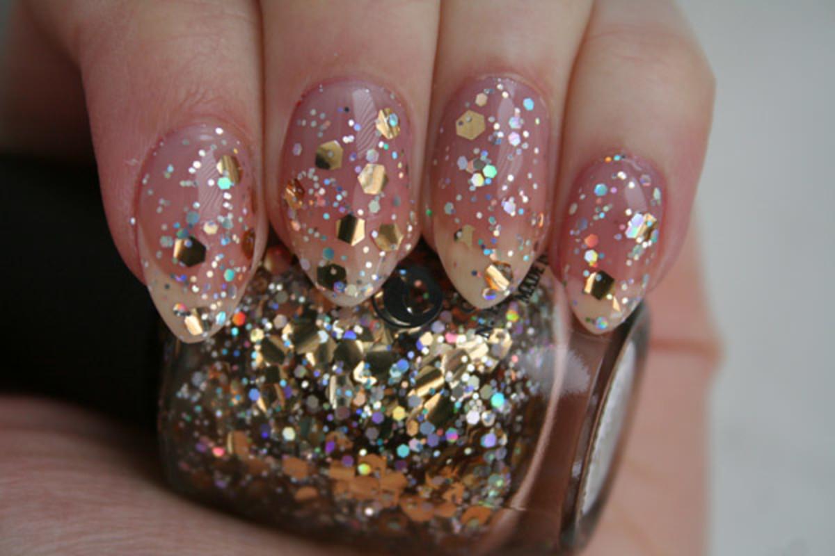OPI Spotlight on Glitter - I Reached My Gold!