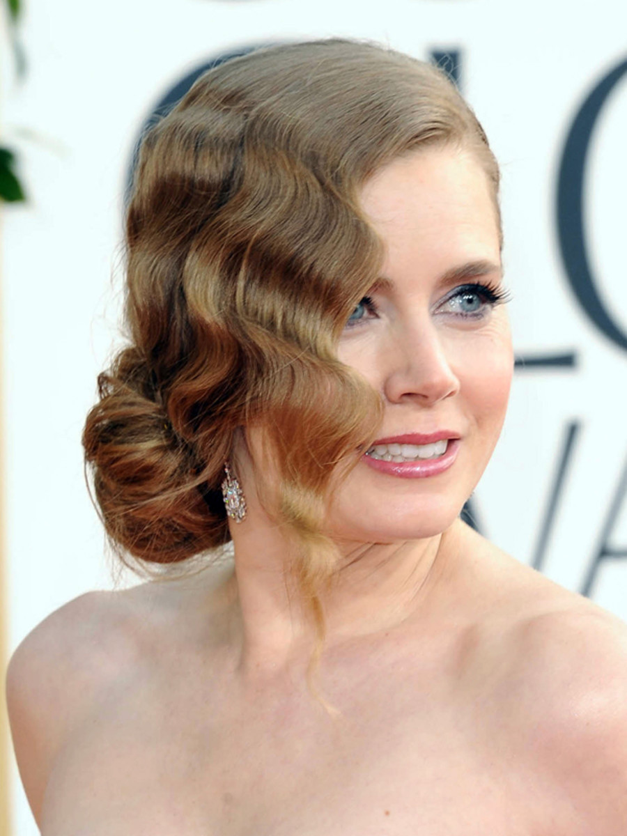 Amy Adams - Golden Globe Awards 2013 hair