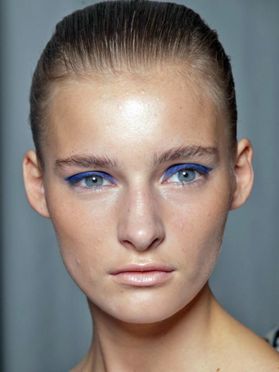 Mary Katrantzou - Spring 2013 makeup