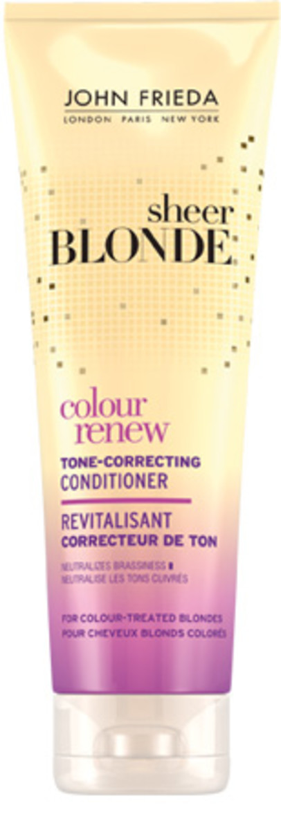 John Frieda Sheer Blonde Colour Renew Tone Correcting Conditioner