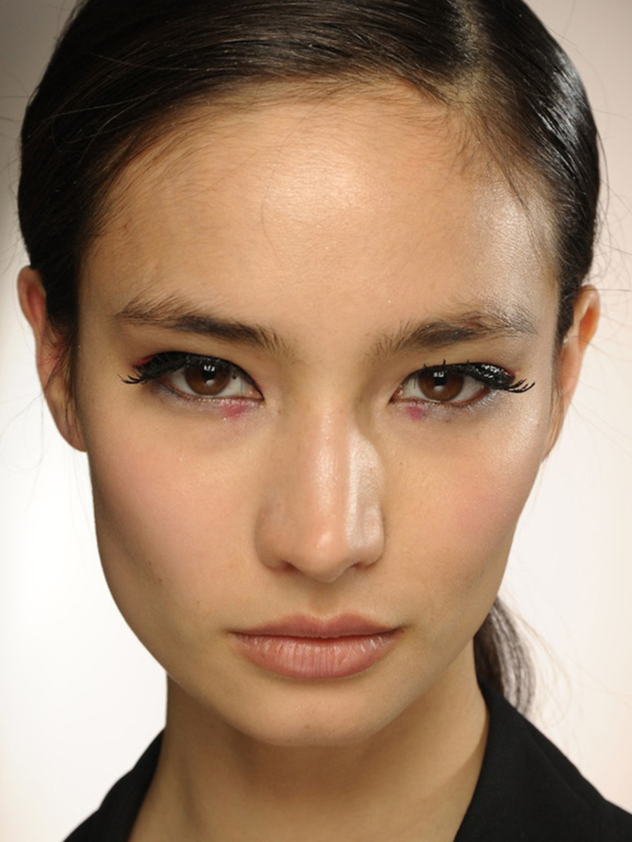 3.1 Phillip Lim - Fall 2012 makeup