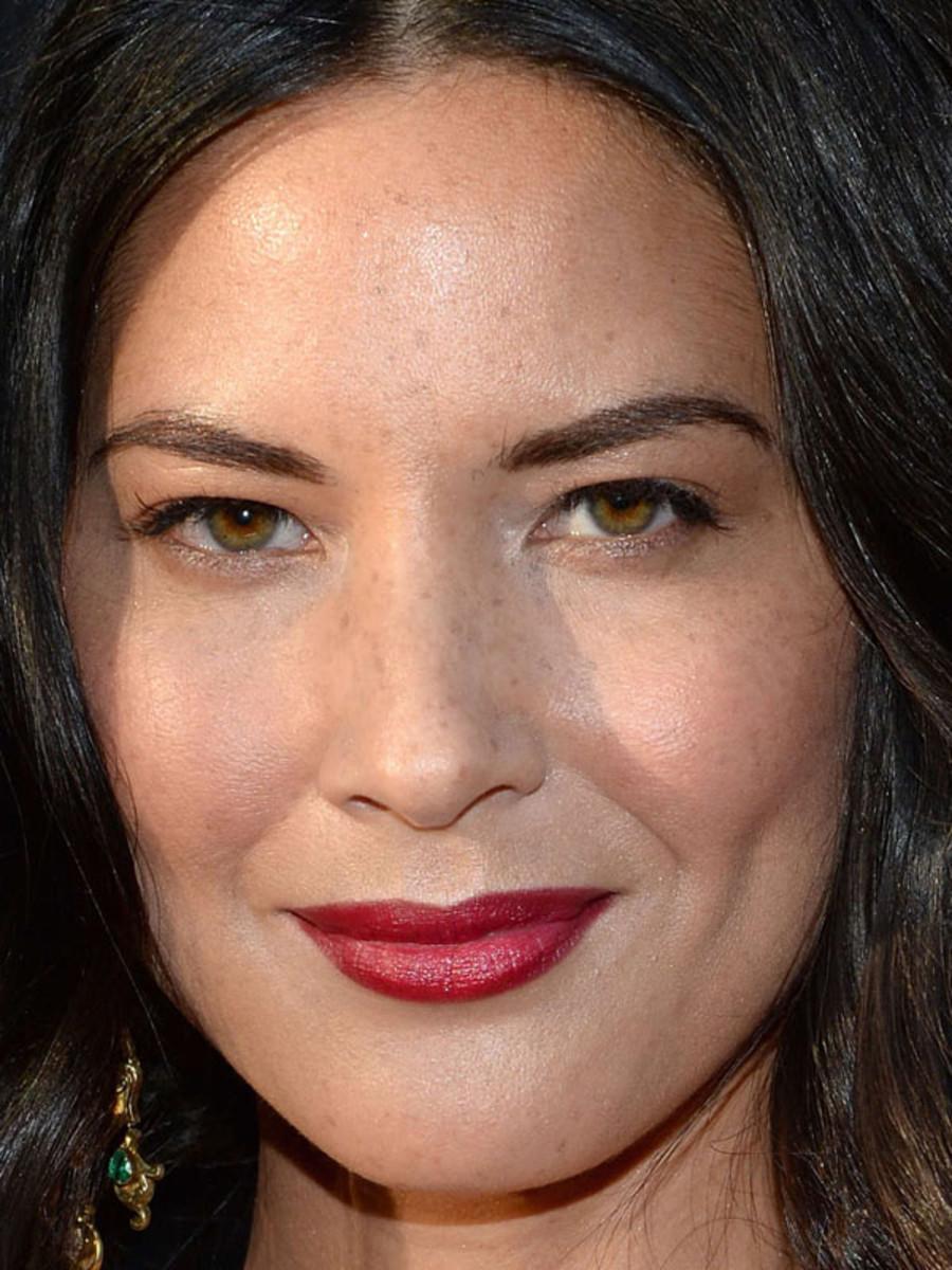 Olivia Wilde makeup, Deliver Us From Evil screening, 2014