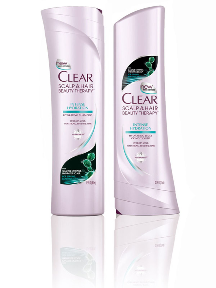 Clear Intense Hydration Shampoo and Conditioner