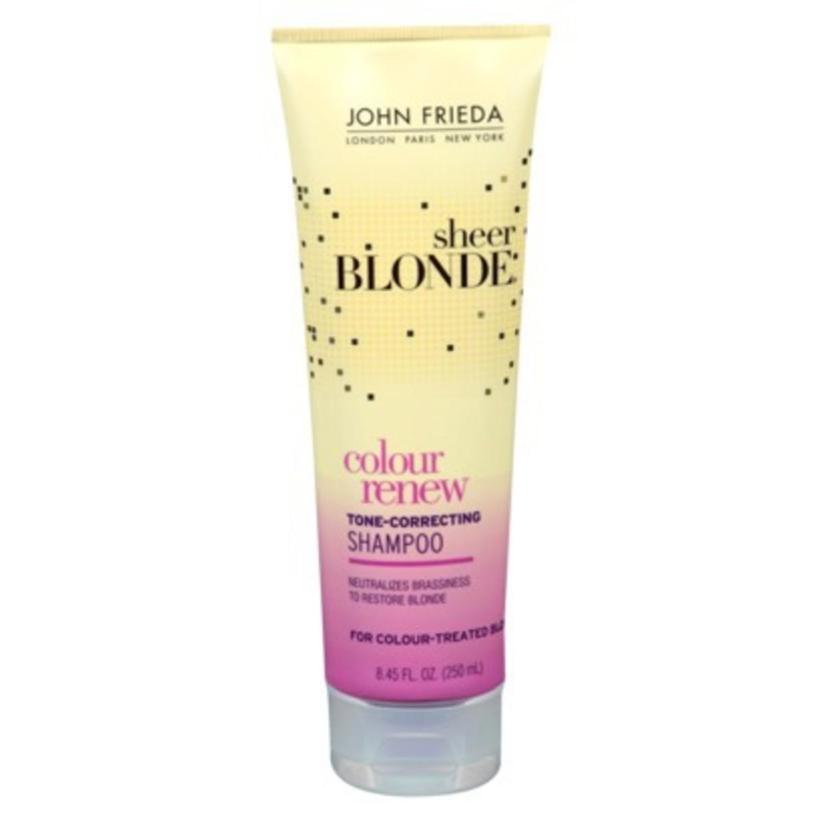 John Frieda Sheer Blonde Colour Renew Tone-Correcting Shampoo