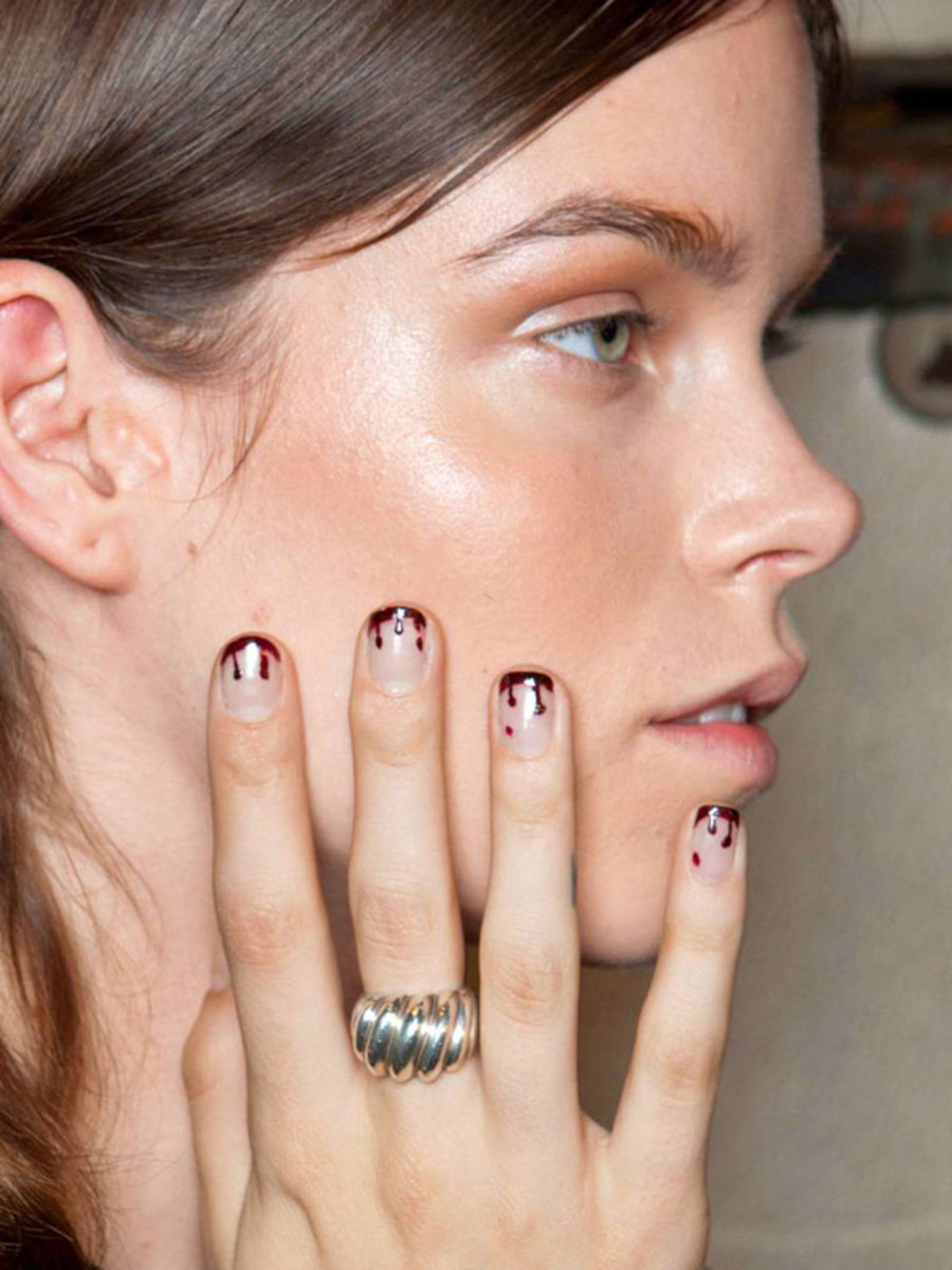 Prabal Gurung - Spring 2013 nails