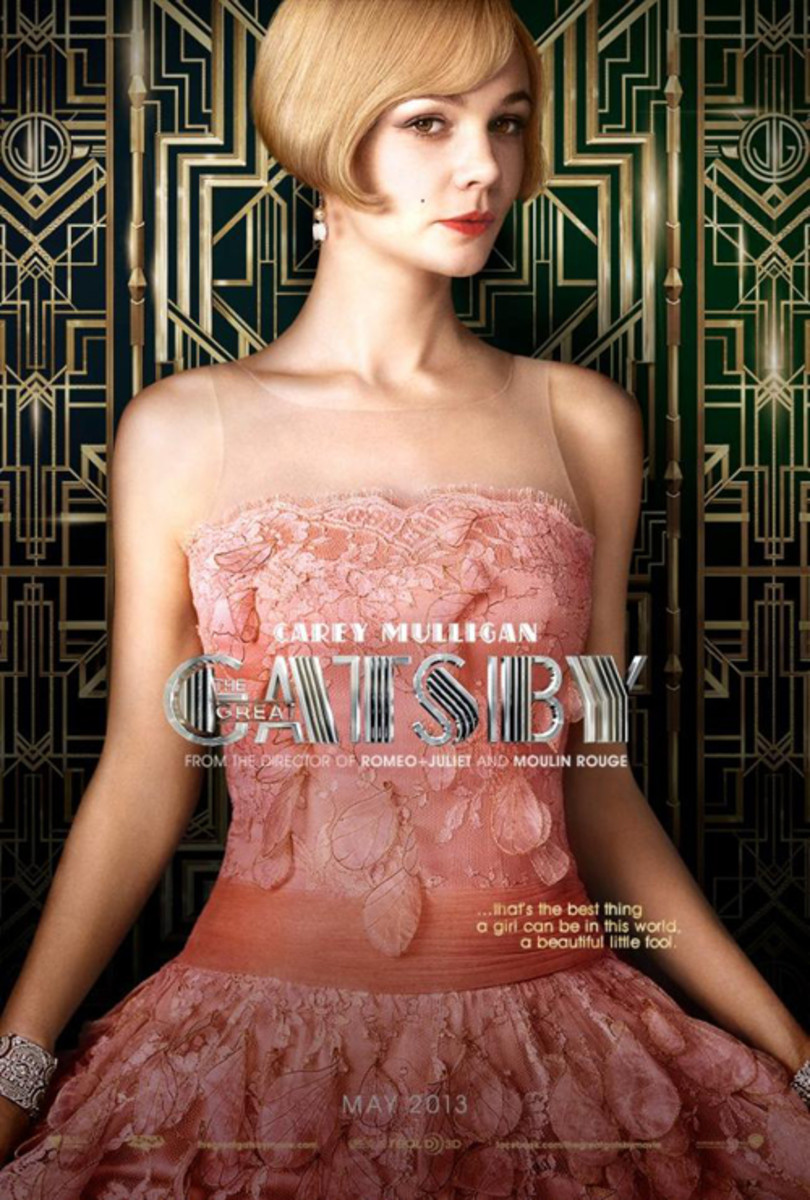 Carey Mulligan - Great Gatsby movie poster