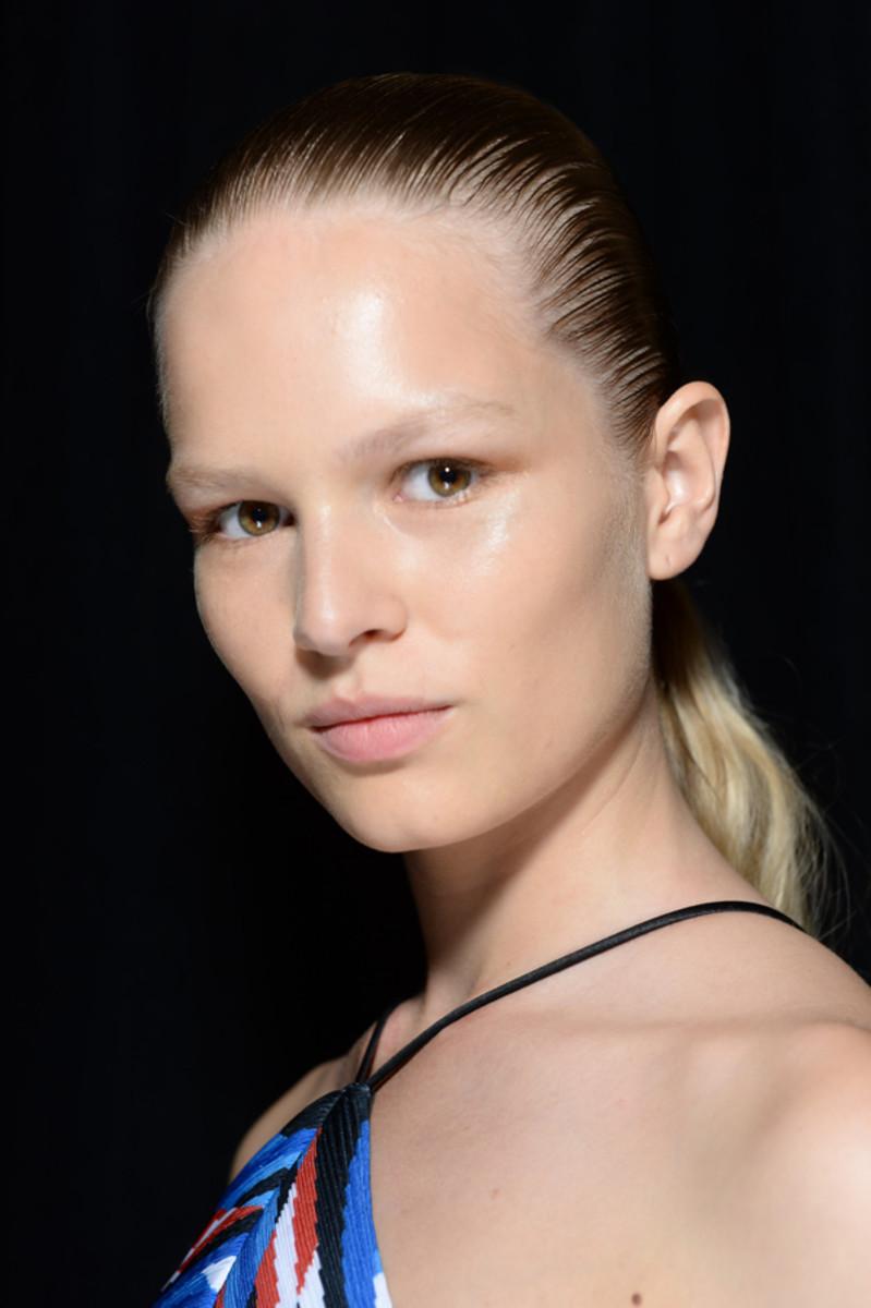 Alexander Wang Spring 2015 makeup