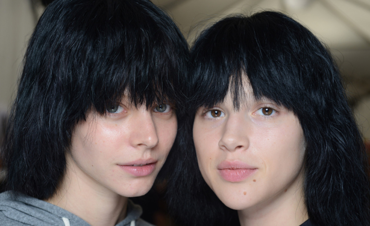 Marc Jacobs Spring 2015 makeup