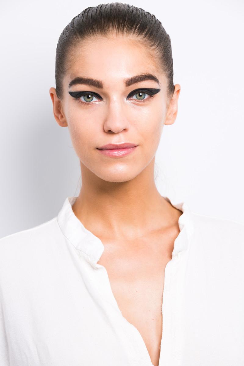 Cushnie et Ochs Spring 2015 makeup