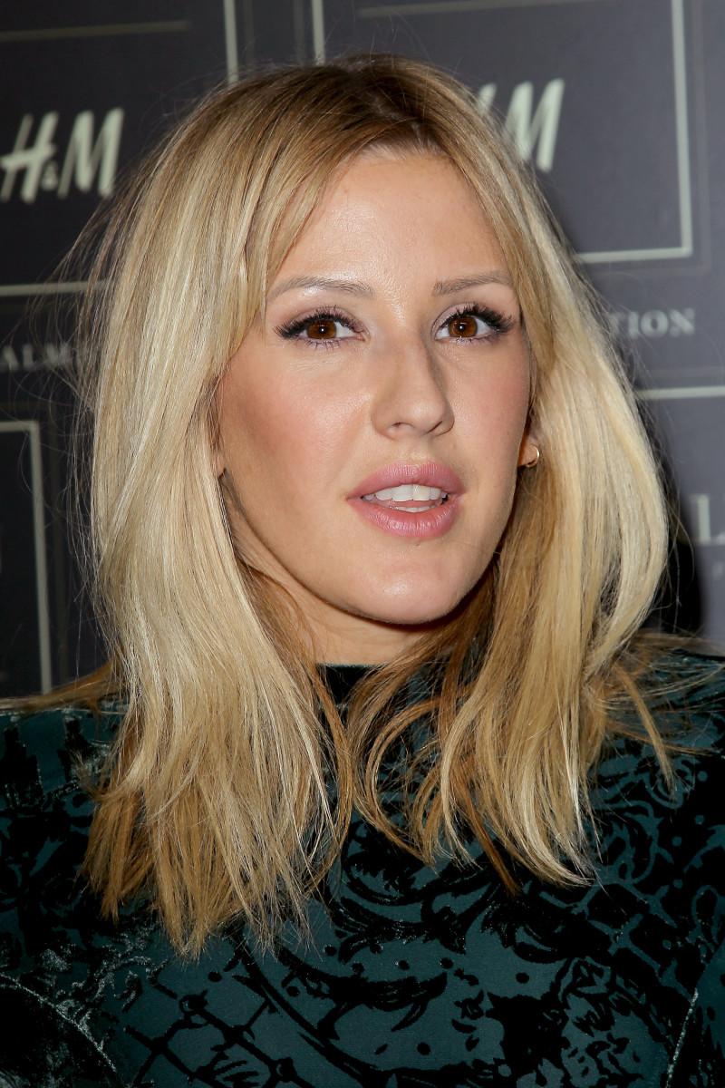 Ellie Goulding, Balmain x H&M collection launch, 2015