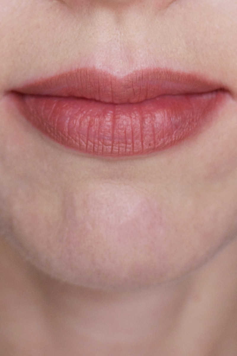 MAC Pro Longwear Lip Pencil in Staunchly Stylish (on lips)