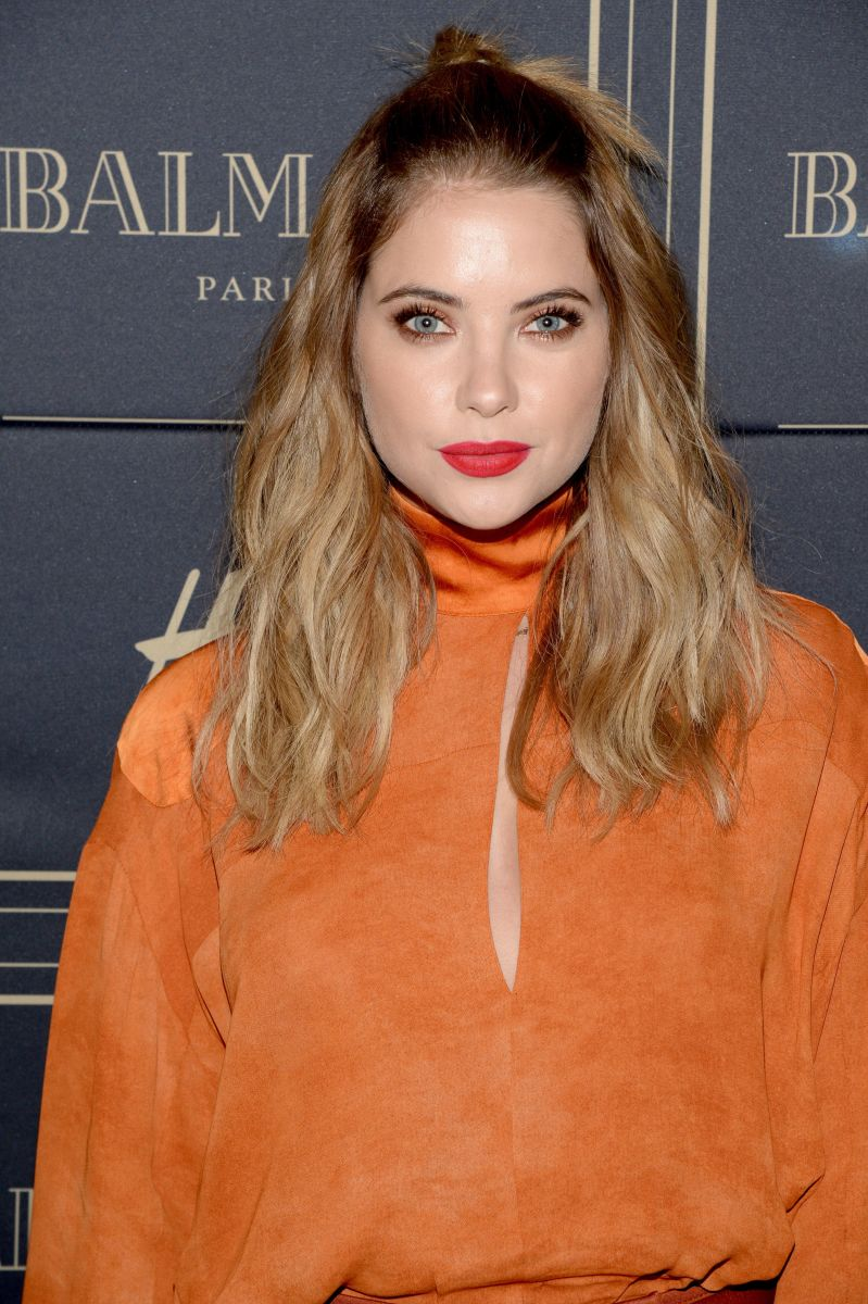 Ashley Benson, Balmain x HM VIP Pre-Launch, 2015