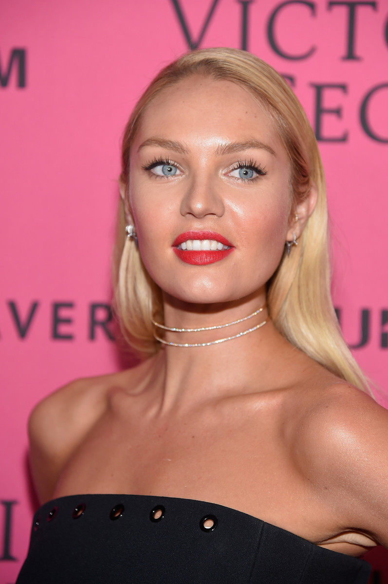 Candice Swanepoel, Victoria's Secret Fashion Show after-party, 2015