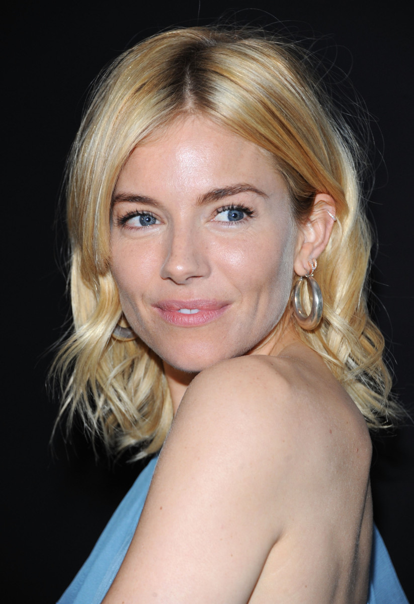 Sienna Miller, Montblanc de la Culture Arts Patronage Awards, 2015