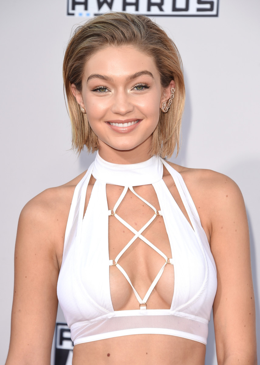 Gigi Hadid, American Music Awards 2015