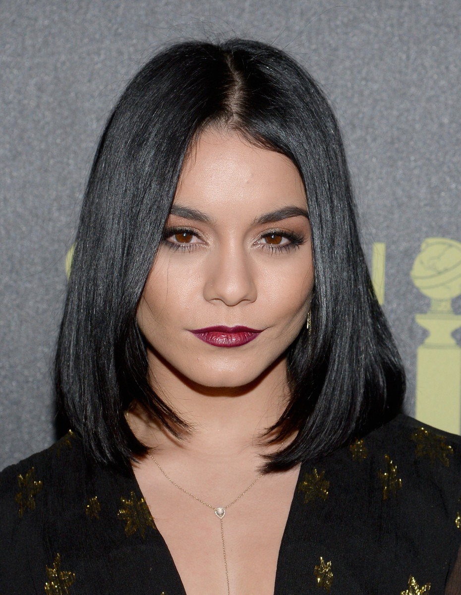 Vanessa Hudgens, HFPA and InStyle Golden Globes celebration, 2015